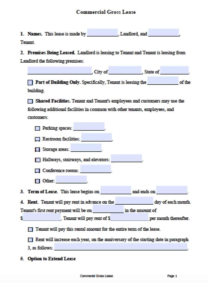 Free Printable Al Lease Agreement