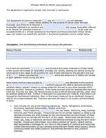 Free Michigan Rental Lease Agreement Forms And Templates Pdf