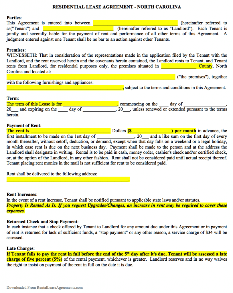 lease contract templates - solarfm.tk