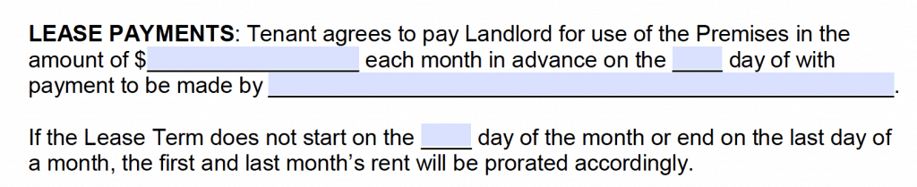 Free Month To Month Rental Agreements Pdf And Word Templates